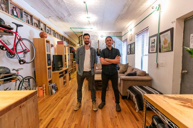 Studio Apartment Brooklyn how roommates turned a brooklyn studio into a two-bedroom -
