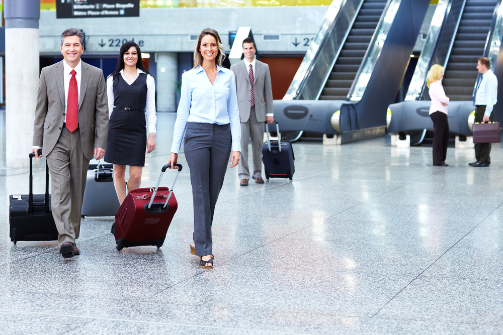 Perks of sharing a room with your boss during a business trip -
